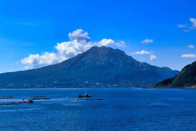 鹿児島からの風景