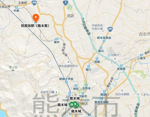 田原坂地図