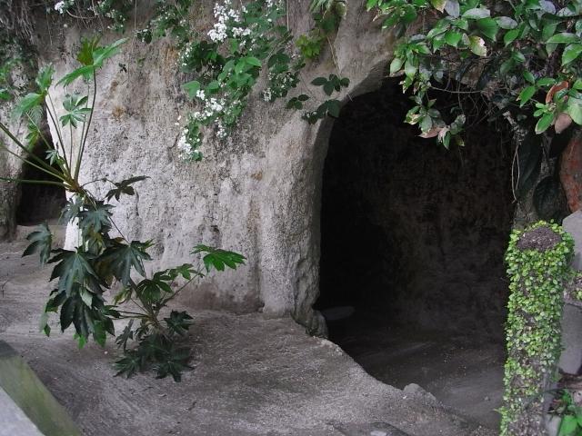 西郷隆盛が過ごした洞窟