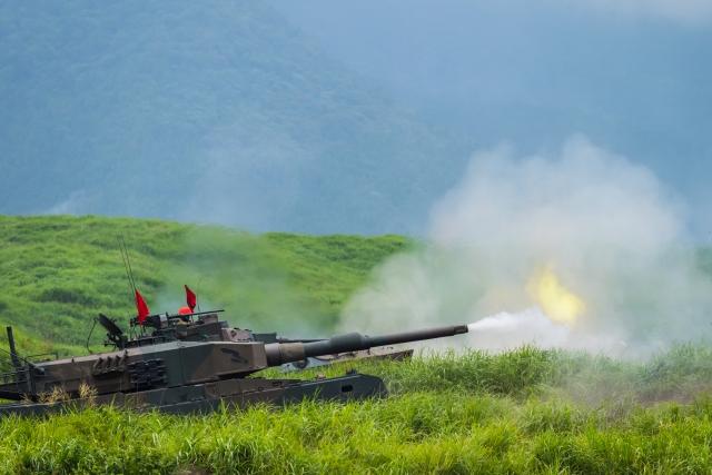 戦車の様子